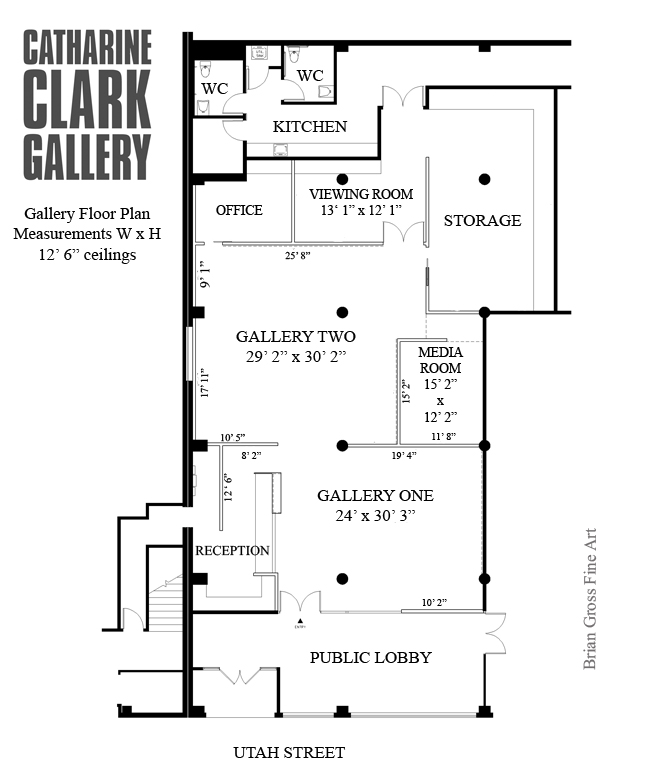 Fabulous Gallery Floorplans Catharine Clark Gallery Largest Home Design Picture Inspirations Pitcheantrous